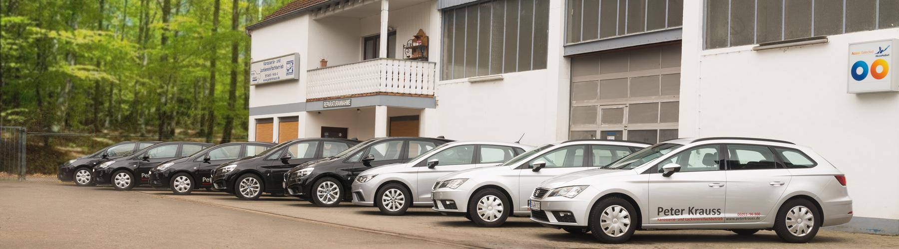 Die Peter Krauss Firmenwagen Flotte